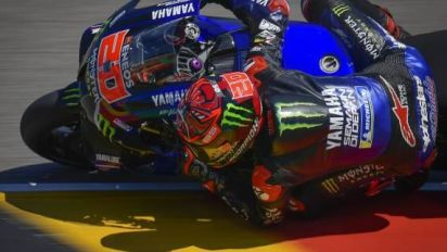 Moto - MotoGP - Allemagne - Fabio Quartararo signe le meilleur temps des essais libres du GP d'Allemagne