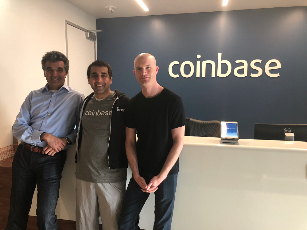 Coinbase's Brian Armstrong talks plans to move beyond trading