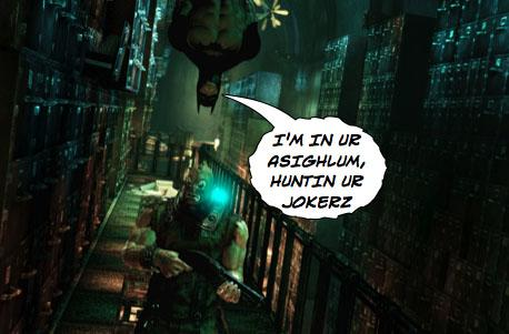 POW! BIFF! New Batman: Arkham Asylum screenshots