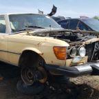 Junkyard Gem: 1980 Mercedes-Benz 300SD