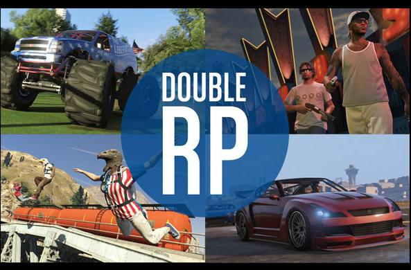 Get double RP in GTA Online this weekend