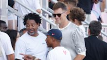 Tom Brady seen walking, gives update on surgically repaired knee
