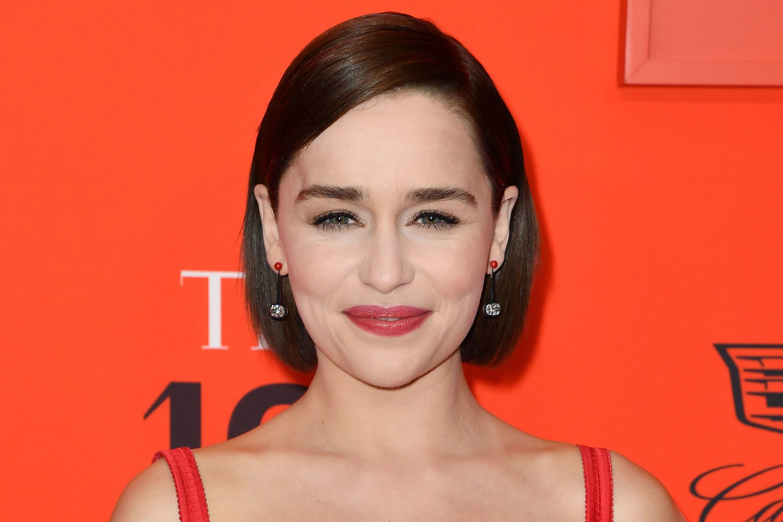 Emilia Clarke's Photo Wearing a Bald Cap Has Game of Thrones Fans