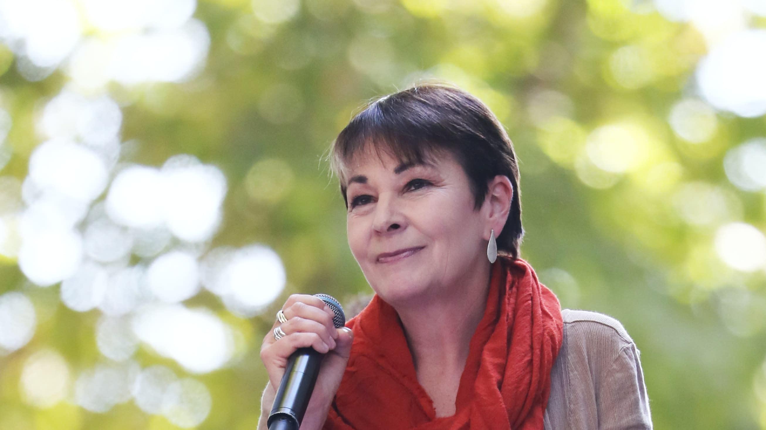 Caroline Lucas tops Woman's Hour power list