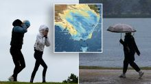 State-by-state weekend weather: Tasmania drenched as rain continues in NSW