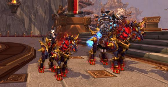 Warforged Nightmare mount now available