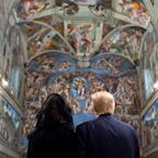 Trump And Melania Hold Hands In Sistine Chapel, Observe 'Last Judgement'