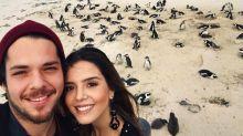 Giovanna Lancellotti curte férias românticas na África do Sul