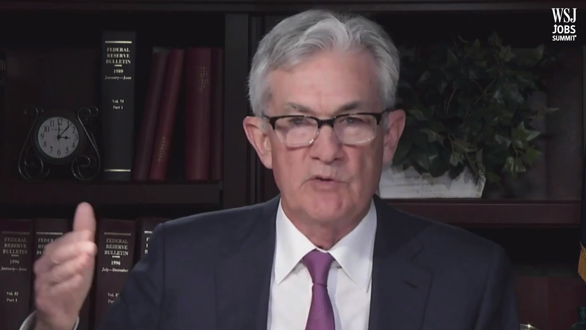 Federal Reserve Chair Jerome Powell disappointed some traders by offering few signs that the central bank might expand monetary stimulus.