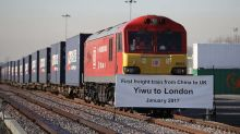 First direct freight train from China to London completes mammoth 18-day journey