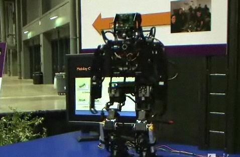 DARwIn IIIx RoboCup entrant gets shown off on video