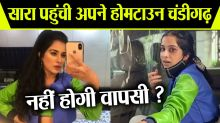 Bigg Boss 14: Sara Gurpal spotted leaving back to her hometown Chandigarh with injured eyes