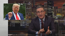 John Oliver slams Trump's call for China to probe Biden: 'What dictators do'