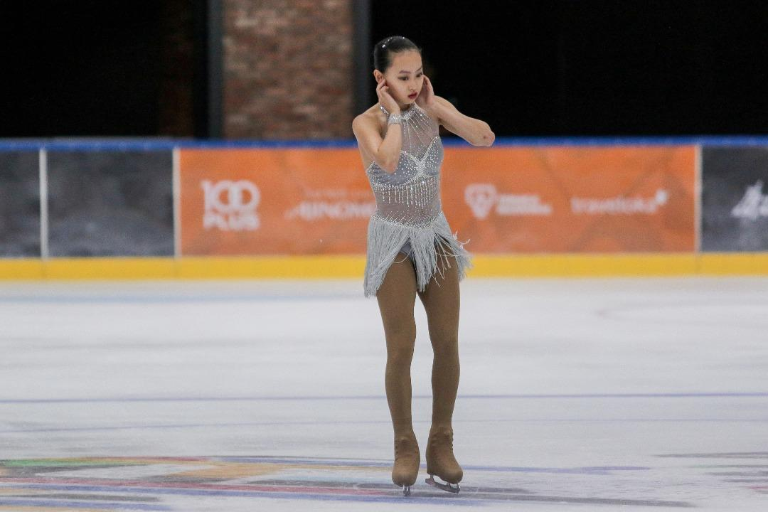 Sea games singapores yu shuran wins gold in figure skating psea games 2017 yu shuran of singapore competes in the figure skating voltagebd Gallery