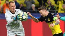 """El """"muro"""" Ter Stegen centra los elogios tras el sufrimiento en Dortmund"""