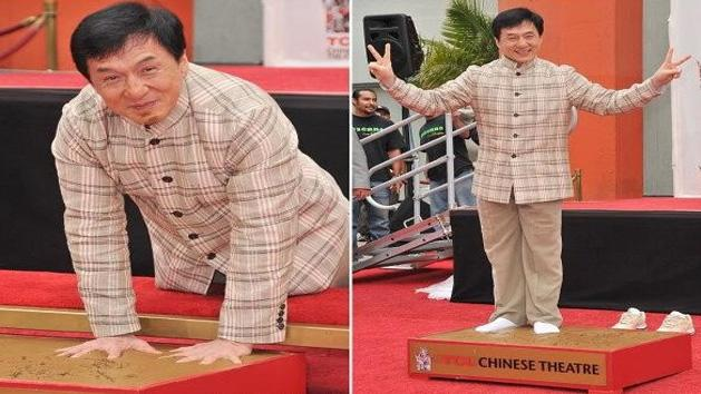Jackie Chan FIRST CHINESE To Get Immortalized