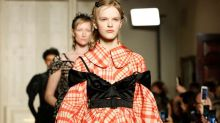 Behold The Return Of The '50s Bubble Dress At London Fashion Week