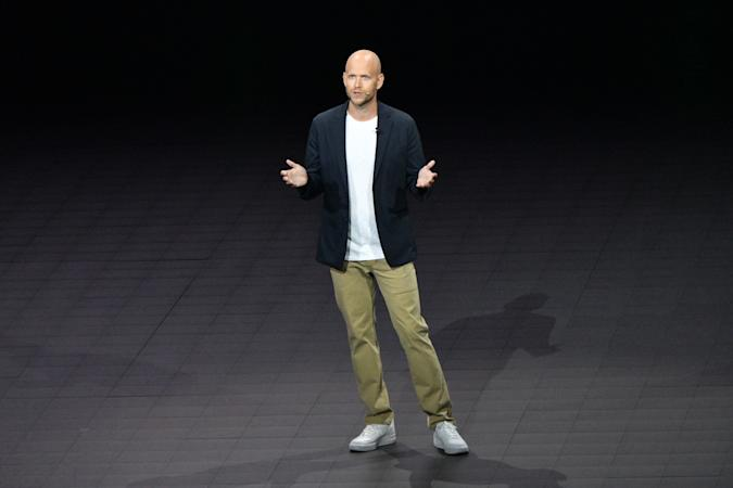 BROOKLYN, NY - AUGUST 09:  Spotify CEO Daniel Ek speaks onstage during Samsung Unpacked New York City at Barclays Center on August 9, 2018 in Brooklyn City.  (Photo by Mike Coppola/Getty Images for Samsung)