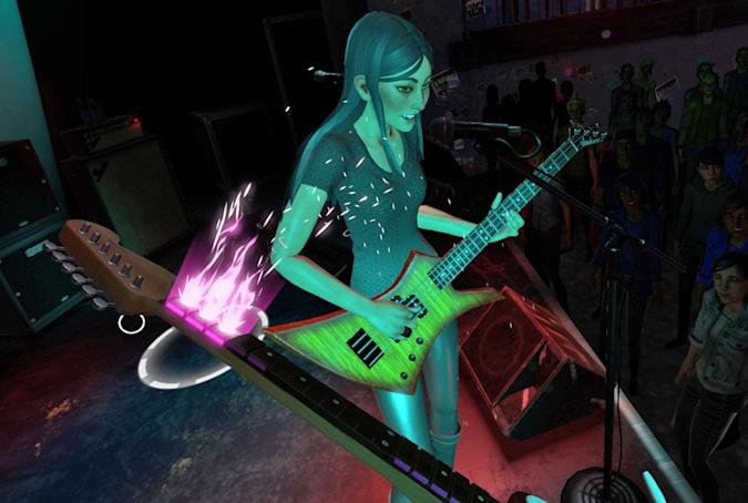 'Rock Band VR' is a completely different kind of guitar game