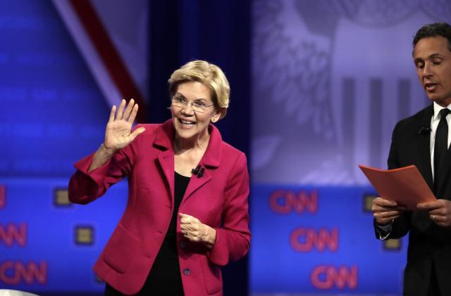 Elizabeth Warren Facebook ad mocks Facebook's fact checking policies