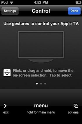 Apple TV software update adds gesture support via Remote