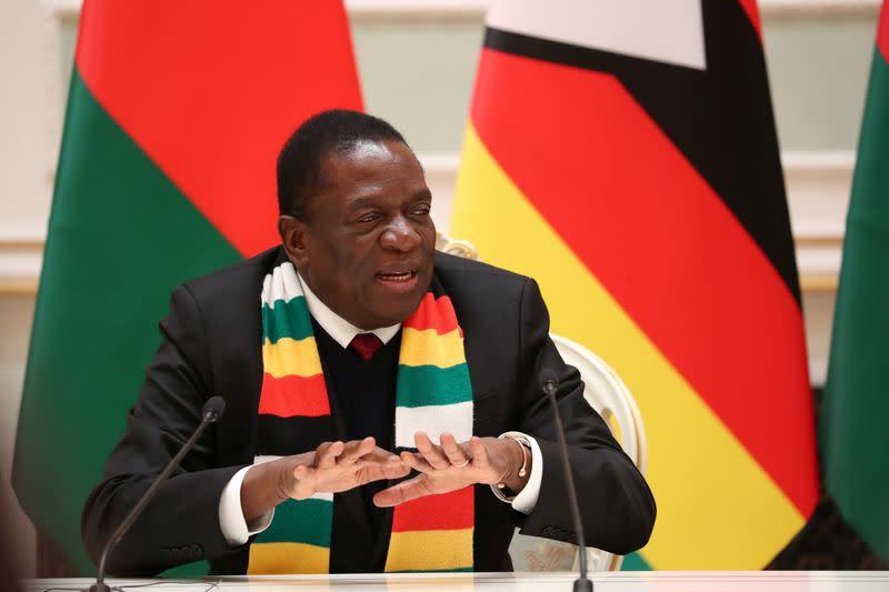 Zimbabwe president threatens 20 years jail over fake lockdown statement
