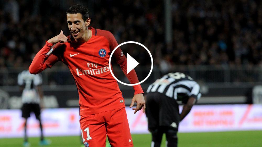 VÍDEO: Di María, Falcao y los 5 mejores goles de la Ligue 1