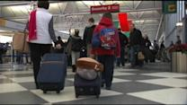Baggage Handlers Caught on Tape Tossing Luggage