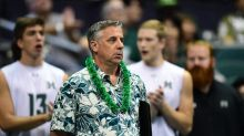 University of Hawaii men's volleyball team gives coach Charlie Wade 200th win