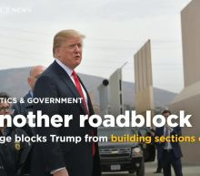 Judge blocks Trump from building sections of U.S.-Mexico border wall