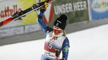 Paula Moltzan grabs first Alpine skiing World Cup podium
