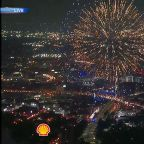 Shell Freedom Over Texas fireworks finale