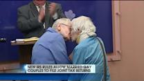 IRS Allowing Gay Married Couples To File Jointly