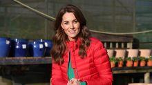 Así se lleva el plumífero, según Kate Middleton