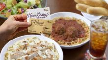 Olive Garden to offer Lifetime Pasta Passes: Unlimited pasta, soup, salad and breadsticks for life