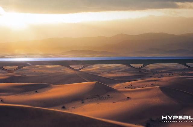 Hyperloop TT plans to build a working line in Abu Dhabi in 2019