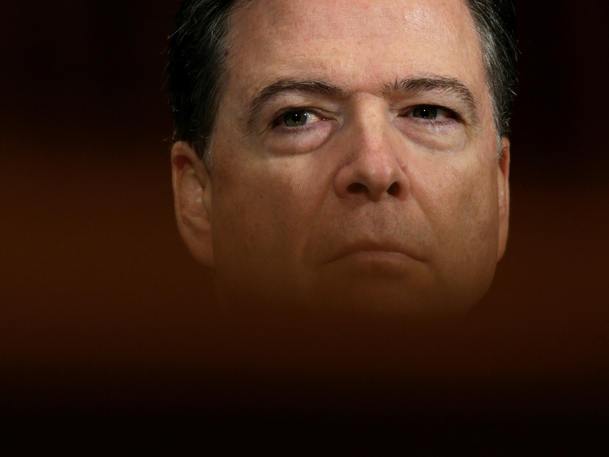James Comey: FBI director 'thought news reports of his sacking were a prank'