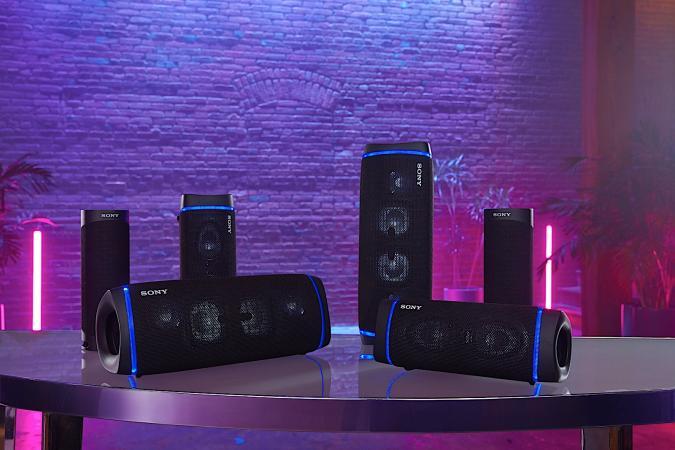 Sony Extra Bass speakers 2020