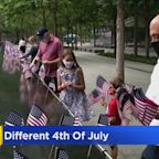 Amid Pandemic, A Different July 4th Than Usual Nationwide
