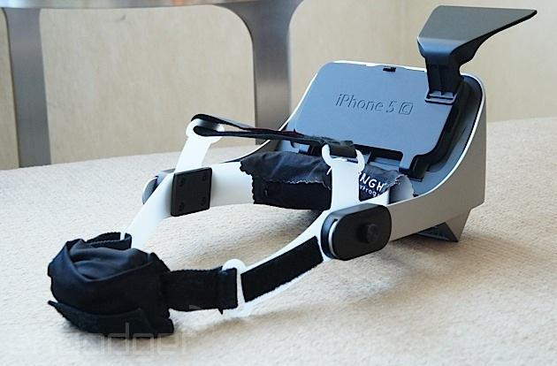 Prototype headset mirrors your phone screen in an awkward attempt at virtual reality