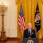 Biden on April jobs report: 'Our efforts are starting to work, but the climb is steep'
