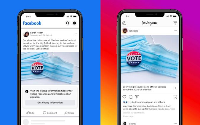 Facebook Voter Information Center