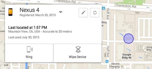 Google intros Android Device Manager to help you find that missing handset