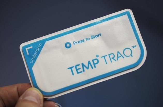 This Bluetooth thermometer patch could bring an end to infant ear violations