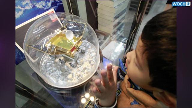 Chinese Spacecraft Lands On Moon