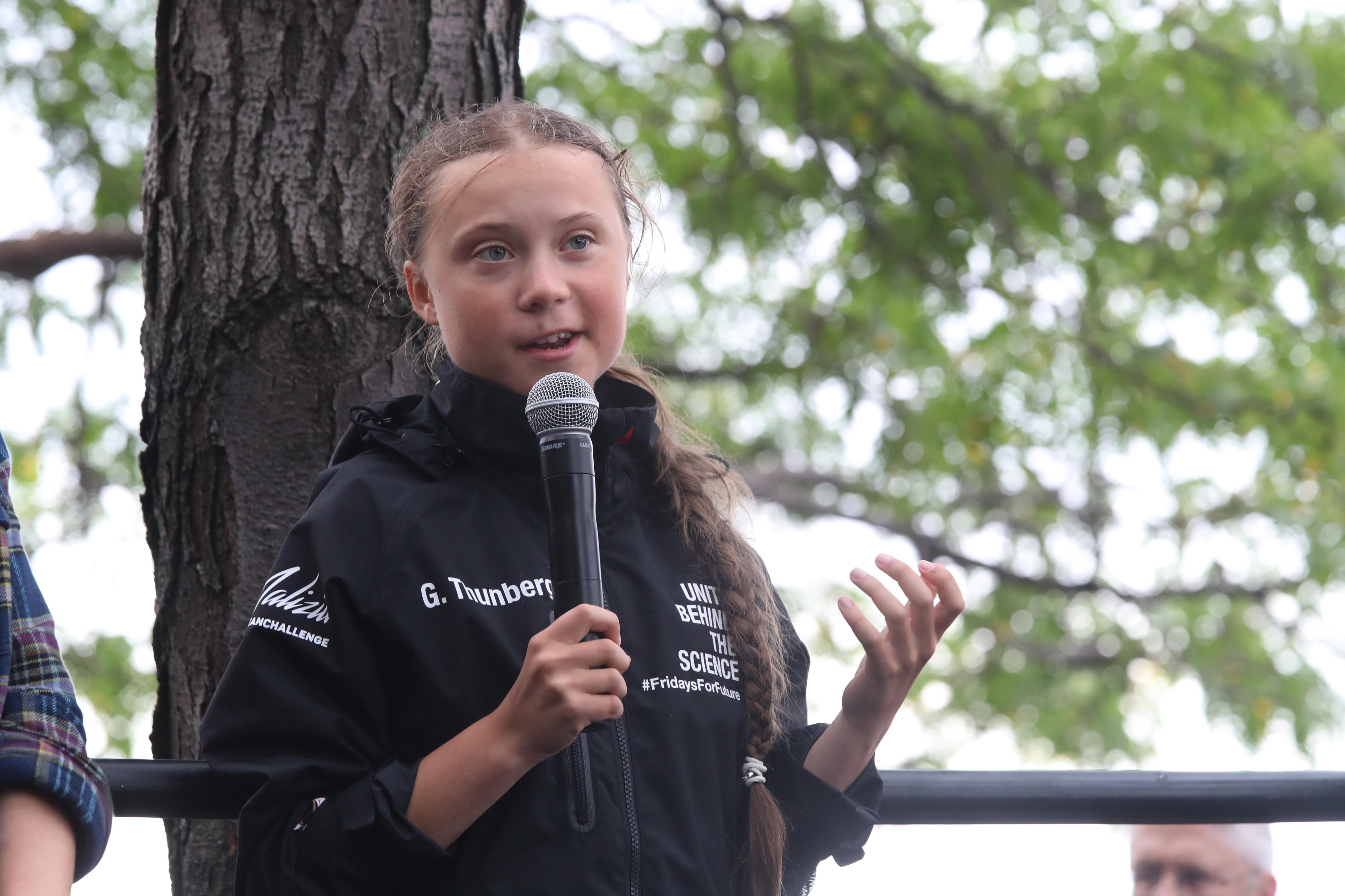 Greta Thunberg Rede