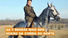 Nem os animais de estimação estão a salvo das regras de Kim Jong-Un