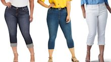 9 plus-size capri pants I'm going to wear all summer long, they're so flattering and affordable