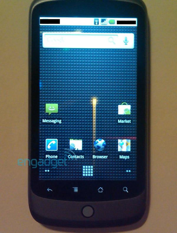 Exclusive: first Google Phone / Nexus One photos, Android 2.1 on-board