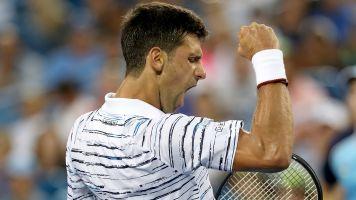 Djokovic outclasses Pouille en route to Cincy semis
